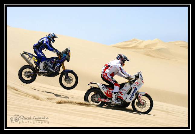 Adelantamiento KTM Dakar 2013
