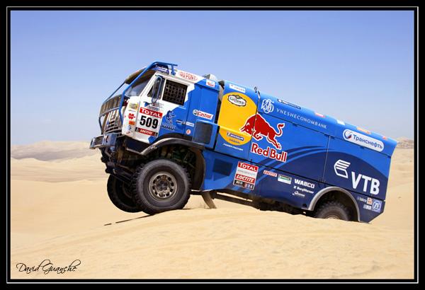 Camion Red Bull Dakar 2012